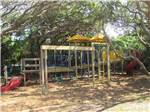 View larger image of Playground with swing set at NORTH BEACH CAMP RESORT image #11