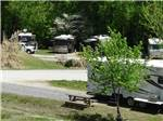 View larger image of Trailers and RVs camping at LEISURE ACRES CAMPGROUND image #1