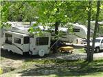 View larger image of Trailers camping at LEISURE ACRES CAMPGROUND image #4