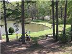 View larger image of A group of people fishing at LEISURE ACRES CAMPGROUND image #9