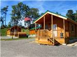 View larger image of A few of the camping cabins at CHERRY HILL PARK image #2