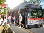 View larger image of People getting off of a bus at CHERRY HILL PARK image #4