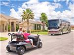 View larger image of RV parked at THE GREAT OUTDOORS RV NATURE  GOLF RESORT image #4