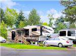 View larger image of Trailers camping at PORTLAND FAIRVIEW RV PARK image #1