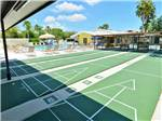 View larger image of Shuffleboard courts at HARBOR LAKES RV RESORT image #4