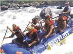 View larger image of People rafting at MAD RIVER RAPIDS RV PARK image #8