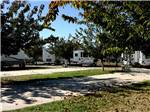 View larger image of Trailers and RVs camping at WILLOWWIND RV PARK image #4