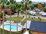 View larger image of Aerial view over campground at HOUSTON EAST RV RESORT image #9