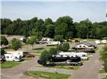 View larger image of Log Cabins with decks at MEMPHIS GRACELAND RV PARK  CAMPGROUND image #1