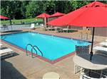 View larger image of Swimming pool at campground at MEMPHIS GRACELAND RV PARK  CAMPGROUND image #2