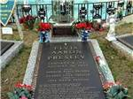 View larger image of Elvis grave site at MEMPHIS GRACELAND RV PARK  CAMPGROUND image #8