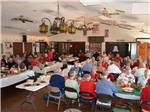 View larger image of Dining room at MISSION VIEW RV RESORT image #4