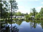 View larger image of Trailers camping on the water at LAKE AIRE RV PARK  CAMPGROUND image #2
