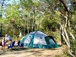 View larger image of Tent camping at LAKE AIRE RV PARK  CAMPGROUND image #9