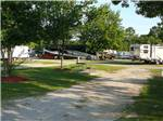 View larger image of One of the gravel RV sites at BARNYARD RV PARK image #4