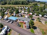 View larger image of Aerial view of the park facilities at BROOKHOLLOW RV PARK image #6