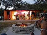 View larger image of Fire pit with live music at COMPASS RV PARK image #9