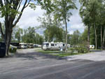 View larger image of RVs camping at NIAGARA FALLS CAMPGROUND  LODGING image #2