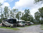 View larger image of RVs and trailers at campground at NIAGARA FALLS CAMPGROUND  LODGING image #3