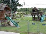 View larger image of Playground with swing set at NIAGARA FALLS CAMPGROUND  LODGING image #7