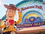 View larger image of Woody from Toy Story films at California Adventure at ANAHEIM RV PARK image #4