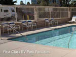 View larger image of Swimming pool with outdoor seating at ANAHEIM RV PARK image #10