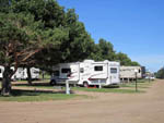 View larger image of RVs camping in gravel sites at SIOUX FALLS YOGI BEAR image #2