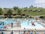 View larger image of Aerial view over waterpark at SIOUX FALLS YOGI BEAR image #4