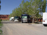 View larger image of RVs and trailers at campground at THOUSAND LAKES RV PARK  CAMPGROUND image #1