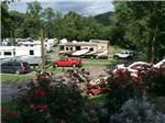 View larger image of Looking at the RV sites from a hill at SOARING EAGLE CAMPGROUND  RV PARK image #1