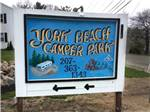 York Beach Camper Park
