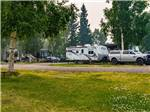 View larger image of RVs parked in gravel sites at RIVERS EDGE RV PARK  CAMPGROUND image #6