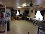 View larger image of Dining room at HILLTOP RV PARK image #6