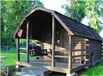 View larger image of RVs parked in treed sites at LAKE PAN RV VILLAGE image #3