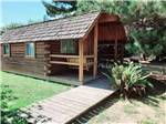 View larger image of One of the camping cabins at RIVERWALK RV PARK  CAMPGROUND image #6