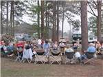 View larger image of Campers gathering at SUGAR MILL RV PARK image #6