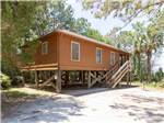 View larger image of Cabin with deck at THE CAMPGROUND AT JAMES ISLAND COUNTY PARK image #7