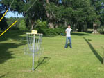 View larger image of Frisbee golf at OAK PLANTATION CAMPGROUND image #10