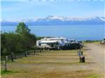 View larger image of The front entrance sign with Good Sam banner underneath at OCEAN SHORES RV PARK  RESORT image #1