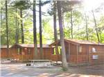 View larger image of Cabins with decks at LAKE GEORGE ESCAPE CAMPING RESORT image #7