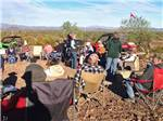 View larger image of Inside of the wood working shop at WAGON WEST RV PARK image #2