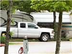 View larger image of A row of filled RV sites at BRANSON TREEHOUSE ADVENTURES image #1