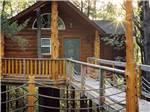 View larger image of One of the cabin treehouses at BRANSON TREEHOUSE ADVENTURES image #3