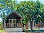 View larger image of Cabins with decks at YOGI BEARS GUADALUPE RIVER CAMP RESORT image #3