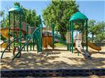 View larger image of Playground at YOGI BEARS GUADALUPE RIVER CAMP RESORT image #8