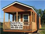 View larger image of Cabin with deck at ROCKWELL RV PARK image #2