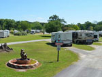 View larger image of Trailers and RVs camping at BAYOU WILDERNESS RV RESORT image #7