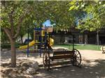 View larger image of Playground with swing at BOULDER CREEK RV RESORT image #8
