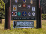 View larger image of Decorated sign at PIONEER RV PARK image #8