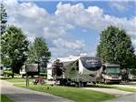 View larger image of A fifth wheel RV parked at SCENIC HILLS RV PARK image #3